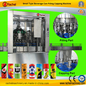 Economic Automatic Beverage Can Filling Sealing Machine pictures & photos