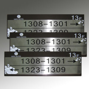 Hot Sale Room Indicator Signs Hetel Plaques pictures & photos