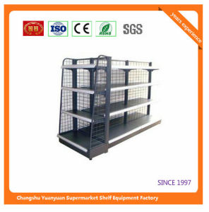Colombia Metal Supermarket Shelf Store Retail Fixture 07286