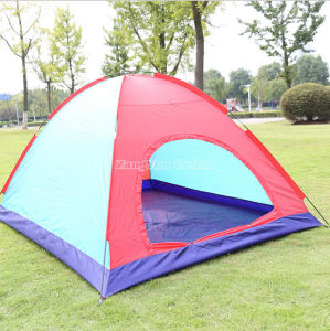 Manufacturer Provides Straightly Manual Tents 6 Person Beach Tent Sale
