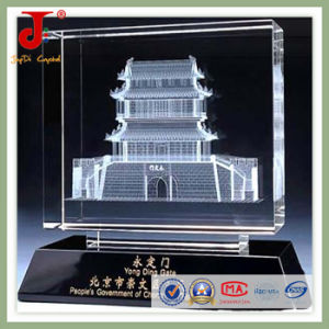 3D Laser Engraved Crystal Cube for Home Decoration pictures & photos