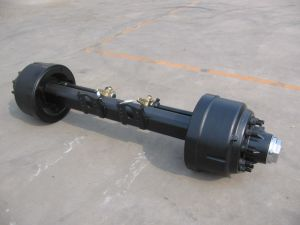 13t for Semi-Trailer Use American Type Outboard Axle