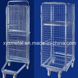 Four Sided Security Roll Cage with Roof and Extral Shelf pictures & photos