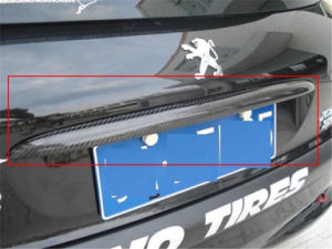 Board Trim Carbon Fiber for Peugeot 206 Hatch pictures & photos