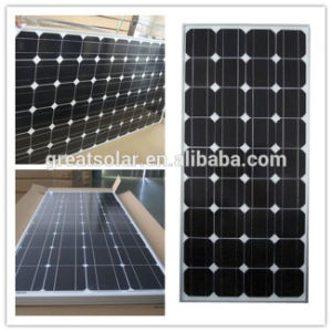 Monocrystalline Silicon Solar Panel 120W with Postive Tolerance of Output pictures & photos