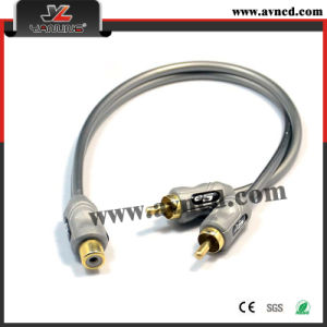 Factory High Performance Audio Wire Y-RCA Cable (Y-024)