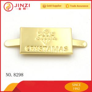 Hot Sale Metal Logo Plate for Handbags/Bags/Dressing/Case pictures & photos