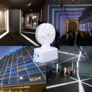 Ceiling Mounted Commercial Decorative Led Trick Light 360 Degree Strip Lighting For Windows Hallway Project