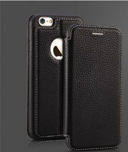 Automatic Suction Screen Leather Phone Case Cover for iPhone