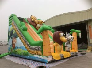 Kids Big Inflatable Jungle Slide for Sale pictures & photos