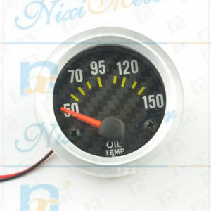 "2"" 52mm 50-150 Water Temperature Gauge with Black Dial"