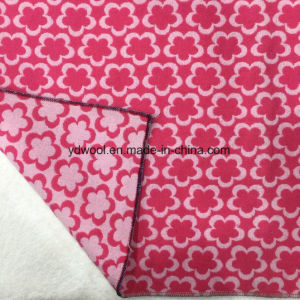 Jacquard Wool Fabric Little Flower pictures & photos