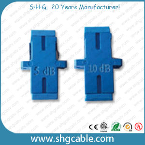 Fixed Value Sc Bulkhead Adapter Type Fiber Optic Attenuator (SC) pictures & photos