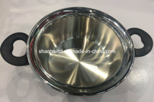 Kitchenware Tri Ply All Cald Stainless Steel Cookware Set pictures & photos