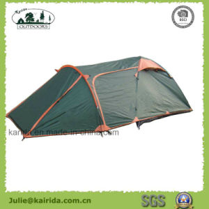 6p Double Layer Camping Tent with Living Room pictures & photos