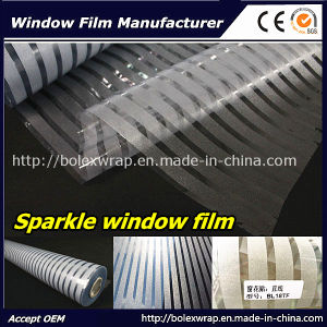 Office Window Film Sparkle Window Film Decorative Film Glass Window Film pictures & photos