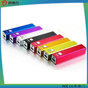 Metal Material 2000mAh Portable Power Bank with CE/RoHS/FCC