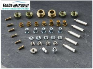 Brass CNC Machining Parts, Steel/Aluminum Machined Parts