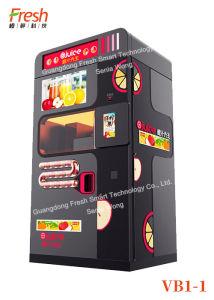 China Fresh Fruit Squeezing Orange Mixed Juice Vending Machine For