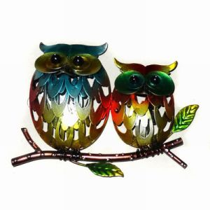 Motheru2032s Day Gift Metal Owl Wall Art Decoration