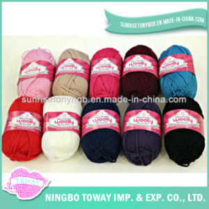 Acrylic Weaving Winter Hat Pure Wool Knitting Yarn pictures & photos