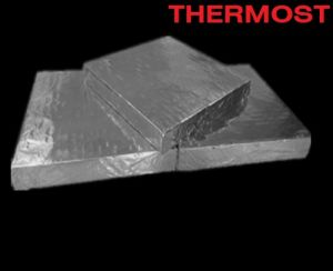 Nanoboard Cover with Alumina Foil (Microporous Insulating Board) pictures & photos