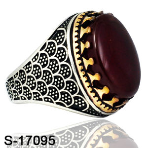 New Models Silver with Copper Musil Muslim Man Ring pictures & photos