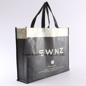 Laminated Tote Non Woven Shopping Bag with Customizd Size