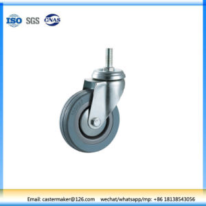 Gray Rubber Threaded Stem Brake Decorative Caste pictures & photos