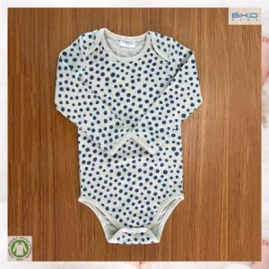 Dark Blue Polka DOT Long Sleeve Baby Clothing pictures & photos