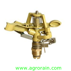 "Factory Zinc Alloy Controllable Angle Rotary Sprinkler 1/2"" Male for Lawn Farmland Irrigation"