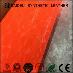 Cold Resistance PVC Leather for Sport Shoes/Industry Shoes pictures & photos