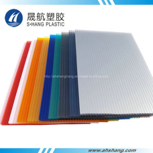 China 4mm~10mm Colored Polycarbonate Hollow Plastic Panel for ...