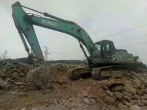 Very Good Working Condition Construction Excavator Used Crawler Excavator Kobelco Sk350 (made in 2011)