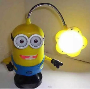 Minions Lamp Bluetooth Speaker, Gift For Christmas, Support TF/USB/FM/