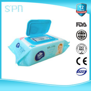 2016 pH Balanced Alcohol Free Baby Wet Tissue pictures & photos