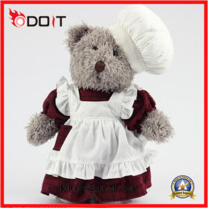 Custom Personalized Teddy Bear Chef Teddy Bear With Chef Uniform