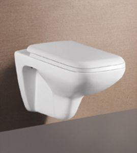 Sanitary Ware Wc Water Closet Concealed Cistern Wall Hung Toilet