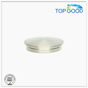 Stainless Steel Height 8mm Arc Solid End Cap (60120)