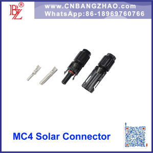 Male and Female PV Module Mc4 Connector for Phoectricicy System pictures & photos