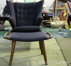 Hans J Wegner Danish Fabric Papa Bear Chair Replica (DS354)