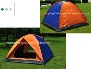 2-4 Persons Double-Skin Polyester Camp Tent (JX-CT020-1) pictures & photos