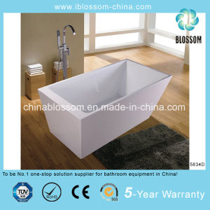New Style Acrylic Freestanding Bathtub Whirlpools Bath Tub (BLS-5834D) pictures & photos
