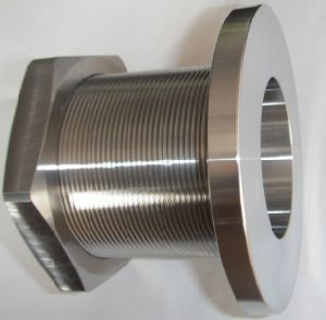 Stainless Steel Male Thread Pipe Fittings with Nut