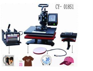 CE-Approval Multifunction Heat Press Machine, Tshirt Mug Plate Cap Printing pictures & photos