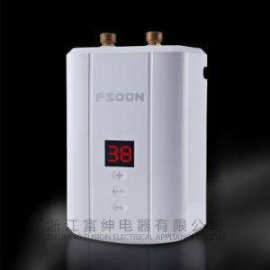 Digital Display Istant Electric Water Heater with CE Approved (HR-001)