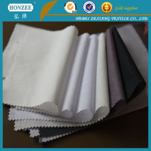 100%Polyester Nonwoven Fusible Interlining with Paste DOT Coating for India