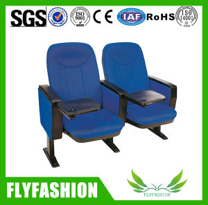 Blue Color Public Furniture Auditorium Chair with Writing Pad (OC-154) pictures & photos