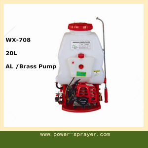 20L Gasoline Engine Knapsack Power Sprayer for Agriculture and Garden Wx-708 pictures & photos