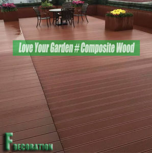 Building Materials Wood Plastic Composite Decking WPC Floor